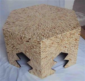 Capiz shell - furniture 2